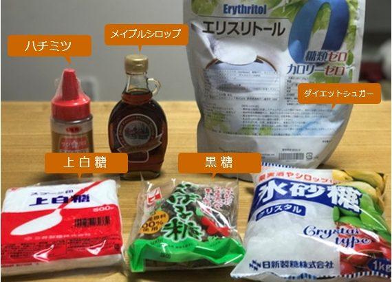 梅酒に「ハチミツ」や「黒糖」などを使う場合の量の目安