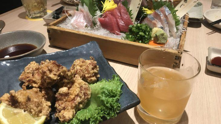 北海道とうまい魚の専門店「魚や一丁」で梅酒 @新宿二丁目
